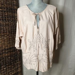 Sanctuary beaded blouse